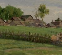 Кундин А.И. 1950-е гг. Карт. м.