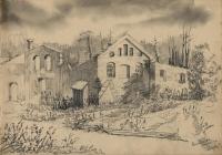 Маркеев А.И. 1944г. Бум., акв.