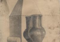 13. Савинов. Учебный рисунок. 1929г