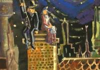 112.Королев Алексей. Г.Х.Андерсен «Трубочист» илл. 13 лет 2кл преподаватель Пьянов К.В. 2004г