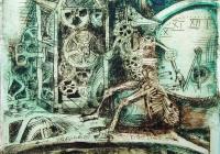 140.Огневская Аня. Магия времени. 14 лет 3 кл преподаватель Фуфачев В.И. 2004г