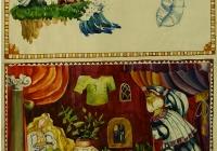 142.Парфёнова Катя. Г.Х.Андерсен «Дикие лебеди» илл. 13 лет 2кл преподаватель Юсов Е.И. 1997г