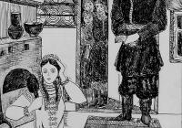 162.Марченкова Вера. Н.В.Гоголь «Вечера на хуторе близ Диканьки» илл. 3кл Андреева В.И.1988