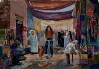 205.Серова Аня. Восточный базар. 14 лет 3кл преподаватель Васильева В.В. 2014г. (2)