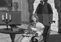 30.Бочкарева Оля. А.С.Пушкин «Евгений Онегин» илл. 15 лет 3кл преподаватель Бабанина И.В. 2004г