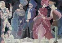 65.Гомолко Люба. Венецианский карнавал. 14 лет 3кл преподаватель Авдонин А.М. 2014г.
