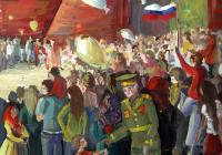 """Журова Лидия, 14 лет """"Цветы для ветерана"""" преподаватель В.Н. Каштанов"""